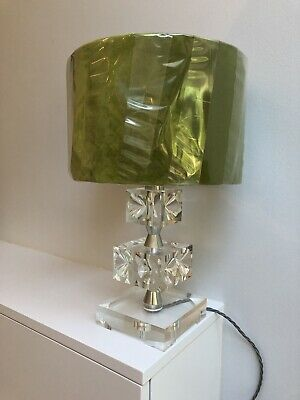 Mid Century Vintage Retro 60s 70s Lucite Perspex Table Lamp