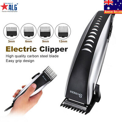 Electric Hair Beard Shaver Clipper Professional Trimmer Cutting Grooming Kit Set