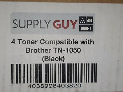 4x Toner für Brother TN1050 DCP1510 DCP1512 HL1110 MFC-1810 MFC1815 MFC1910W