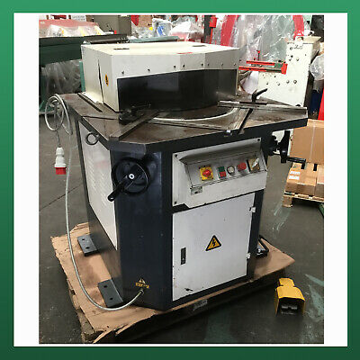 USED - Mantech Variable Angle Hydraulic Corner Notcher 200mm x 200mm x 4.0mm