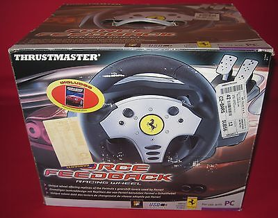 Volante Ferrari Thrustmaster Force Feedback Wheel