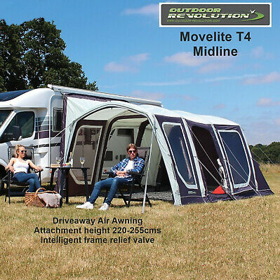 Outdoor Revolution Movelite T4 Midline 2019 Package - Fixing height 220-255cms