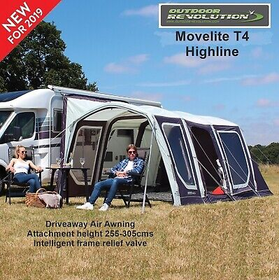 Outdoor Revolution Movelite T4 Highline 2019 Package  - Fixing height 255-305cms