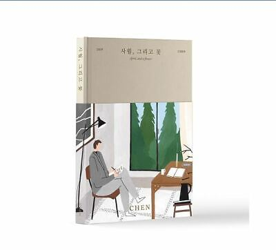 APRIL, AND A FLOWER by CHEN The First Mini Album [Flower Ver.] EXO