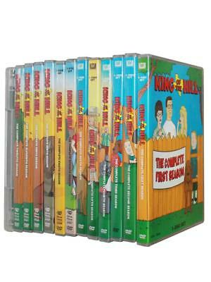 King of the Hill DVD, 2018, 37-Disc The Complete Series Seasons 1-13  Box Set