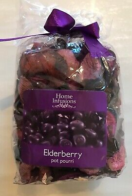 4X Elderberry Scented Fragranced Pot Pourri