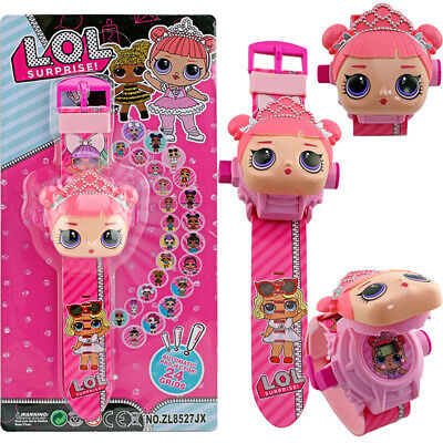 LOL Doll Watches Surprise Doll Flip Electronic  Projection 24 Design Girls Gifts