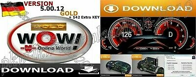 WOW 5.00.12 + KFZDiagnose 2016.0 Software-DOWNLOADLINK-Deutsch-Keygen-VideoFULL