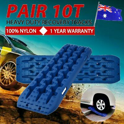 Pair Recovery Tracks 10T Sand Mud Snow Red Tracks/Trax 4X4 ATV CAR Offroad 4WD