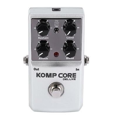 NUX KOMP CORE DELUXE Compression Effect Pedal True Bypass for Electric Guitar
