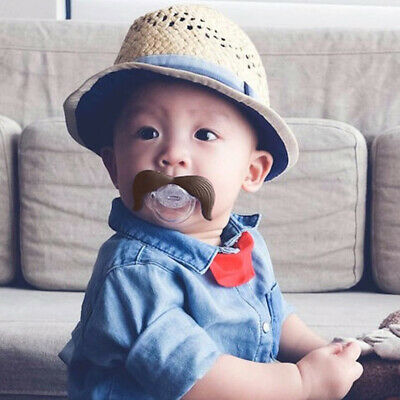Pacifier Dummy Nipple Silicone Funny Baby Teethers Toddler Pacy Orthodontic