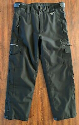 a398a8798cb OCEAN AND EARTH Black Cargo Ski Pants OE Pro Series Men's Large ...
