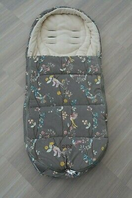 Mamas and Papas Watercolour Floral Velour Cold Weather PLUS Footmuff Cosytoes