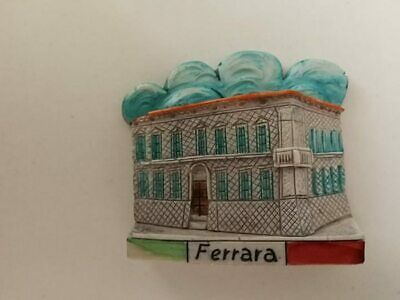 Fridge magnet resin - Ferrara
