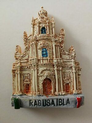 Fridge magnet resin - Ragusa Ibla