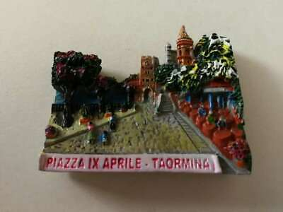 Fridge magnet resin - Taormina