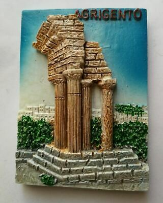 Fridge magnet resin - Agrigento