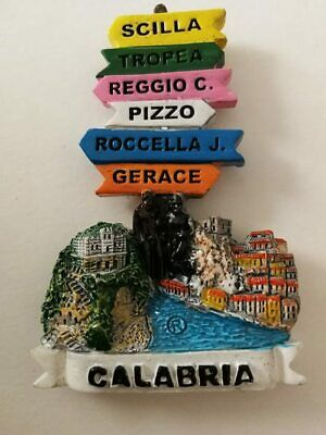 Fridge magnet resin -  Calabria