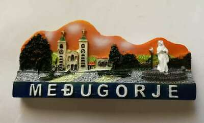 Fridge magnet resin - Medugorje