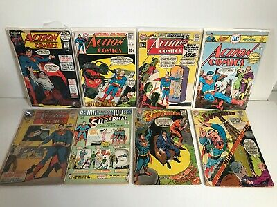 Superman Silver / Bronze Age Collection x16 (All Pictured)