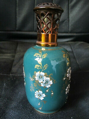 Lampe Berger Ancienne Camille Tharaud Fleurs Email