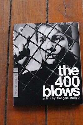 The 400 Blows Criterion Collection Blu-ray Digipak Only Rare & Out of Print OOP