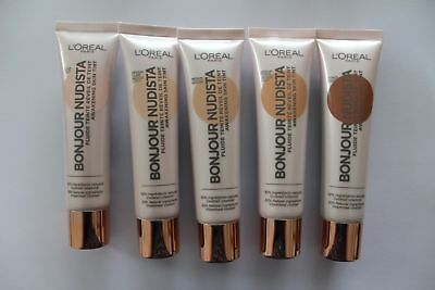 L'Oreal Bonjour Nudista Awakening Skin Tint Foundation 30ml - Choose Shade: