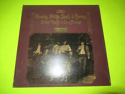 Sealed Crosby Stills Nash And Young Deja Vu Lp Sd 19118 Textured Cover