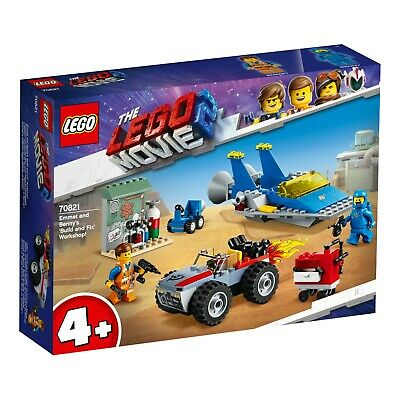 LEGO The Lego Movie Emmet and Benny's Build and Fix Workshop 70821 BRAND NEW