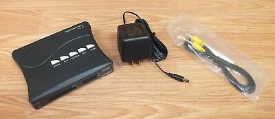 Genuine Sandisk (SDV1-R) Digital Photo Viewer For TV With Power Supply READ