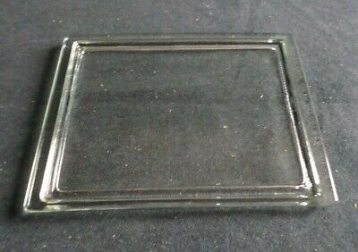 "Wheaton Glass Lid for 30-Slide Stain Dish 5"" x 3 7/8"" x 3 1/8"" (Lid Only) 900303"