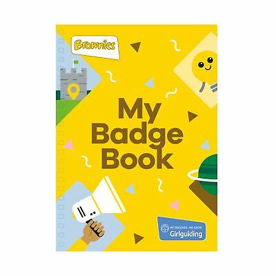 Girl Guiding Brownies Badge Book NEW official product LATEST VERSION