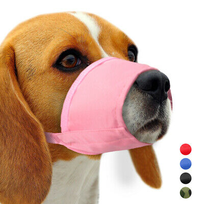 Dog Anti-Bark Bite Muzzle Adjustable Nylon Pet Dog Muzzle 7 Sizes For All Dogs