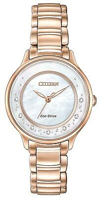 Citizen Watch - Womens Eco-Drive L Circle Of Time - EM0382-86D