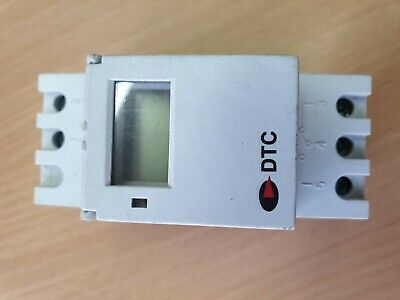 DTC Weekly Programmable Digital Timer DIN Rail Mounting