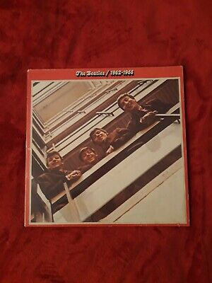 2LP The Beatles ‎– 1962-1966 1° Stampa 1973 Germania VG+ Doppio Vinile 33