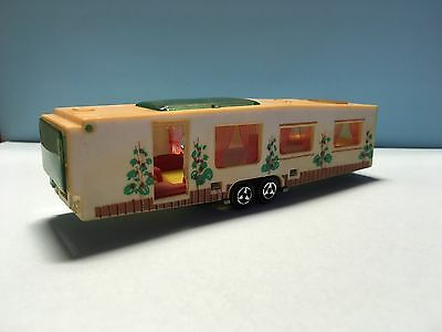 Diecast Majorette Caravane Residentielle No. 370 Wear & Tear Rare Good Condition