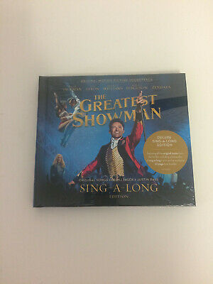 The Greatest Showman sing along cd deluxe edition new sealed