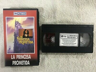 La Princesa Prometida Vhs Cinta Tape The Princess Bride William Goldman