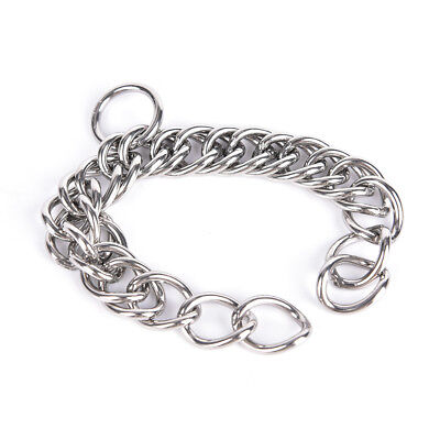 1pc stainless steel double link curb chain for horse bits pet Fad