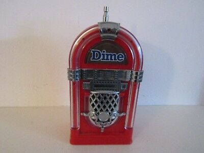 Vintage Dime Bar Jukebox Am Battery Operated Portable Radio. Works Great!