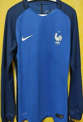 18707bf9d0ab 2016 17 FRANCE HOME Jersey  7 Griezmann XL EURO 2016 Nike Football ...