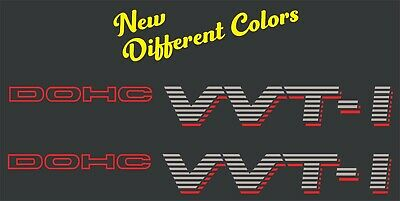 VVTI Doch with a Shadow Vinyl Sticker Decals - SET of 2