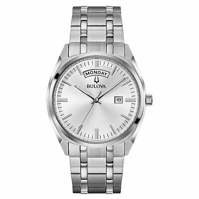 Bulova 96C127 Men's Classic Grey Quartz Watch