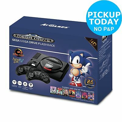 SEGA Mega Drive Flashback 720p HD with 2 Wireless Controllers & 85 Games
