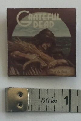 Vintage Grateful Dead Wake Of The Flood Pin / Button