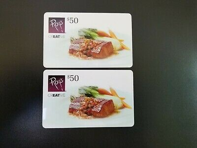 Buy it NOW  $100 Roy's restaurant Gift Card - for $69- Free shipping in US