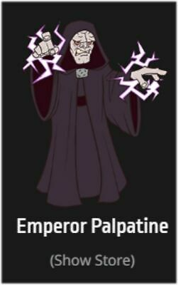 STAR WARS CELEBRATION 2019 Chicago EMPEROR PALPATINE Exclusive Enamel Pin