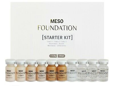 BB Glow Serum MTS Meso Ampoule Starter Kit for professional use — Physiolab