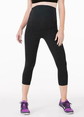 236f3bc577ffb Ingrid & Isabel Maternity Active Capri Leggings With Cossover Waistband  Size S